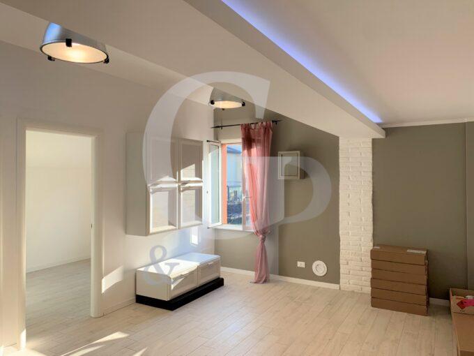 soggiorno appartamento ristrutturato crespellano valsamoggia vendita