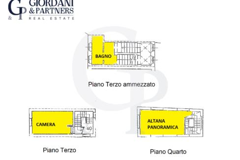 Plani Calderini 2 altana ammezz p3 p4